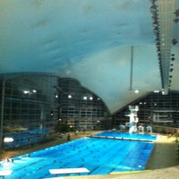 Photo taken at Olympia-Schwimmhalle by Viscoform (. on 11/3/2011