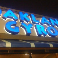 Photo taken at Oakland Gyros by Nathan on 12/31/2010