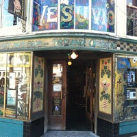 Photo taken at Vesuvio Cafe by Lance S. on 10/7/2011