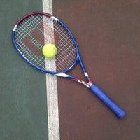 Photo taken at Lapangan Tenis Pati Unus by NonLuthu .. on 12/18/2011