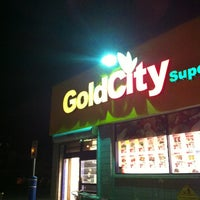 Photo taken at Gold City Supermarket by Eric S. on 10/24/2011