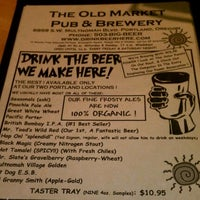 Photo taken at Old Market Pub & Brewery by Stuart T. on 12/8/2011