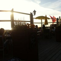 Photo taken at Strandpaviljoen De Zilvermeeuw by Lilian R. on 8/17/2012