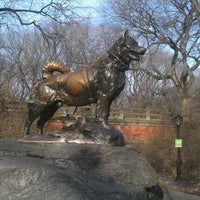 Photo taken at Balto Statue by Randi M. on 12/30/2011