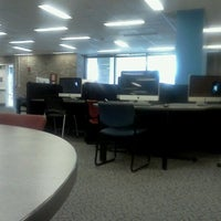 Photo taken at Walter C. Langsam Library by Ross W. on 12/12/2011