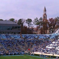 Photo taken at Kenan Memorial Stadium by Sheri W. on 11/26/2011