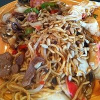 Photo taken at HuHot Mongolian Grill by Allen A. on 8/29/2011