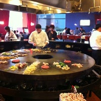 Photo taken at FiRE + iCE Grill + Bar by Justin S. on 3/26/2012