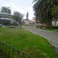 Photo taken at Parque Central Cevallos by Oscario M. on 12/10/2011