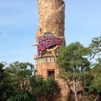 Photo taken at Islands Of Adventure Lighthouse by Heidi D. on 8/30/2012
