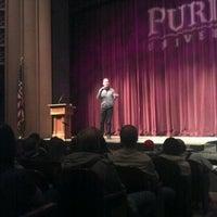 Photo taken at Loeb Playhouse by Derek B. on 12/9/2011