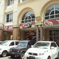 Photo taken at A&W by Cahyono on 11/3/2011