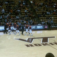 Photo taken at Cassell Coliseum by Julie S. on 11/15/2011