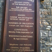 Photo taken at St Etheldreda by John T. on 4/9/2011