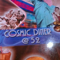 Photo taken at Cosmic Diner by Stephanie on 11/8/2011