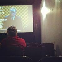 Photo taken at Moxie Cinema by Amanda S. on 1/28/2012