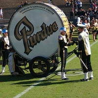 Photo taken at Ross-Ade Stadium by Andy W. on 9/17/2011