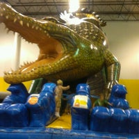 Photo taken at Jump!Zone - Niles by Suzanne H. on 7/27/2012