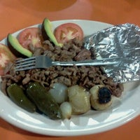 Photo taken at Tacos Los Tarascos by Jorge S. on 8/13/2011