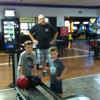 Photo taken at Royal Lanes Bowling Alley by Renia C. on 4/22/2012