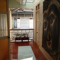Photo taken at Baan Dinso Hostel by Kelsey S. on 1/7/2012