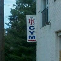 Photo taken at Fit Gym by Sarah B. on 7/11/2012