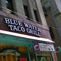 Photo taken at Blue Water Taco Grill by Liza S. on 5/25/2012