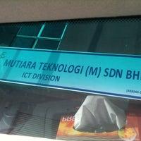 Photo taken at Mutiara Teknologi (M) Sdn Bhd by Sendow S. on 2/10/2011