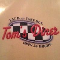 Photo taken at Tom's Diner by erika b. on 7/15/2012