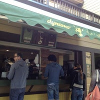 Photo taken at Dynamo Donut & Coffee by Kayla L. on 4/8/2012