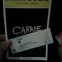 Photo taken at Lucille Lortel Theatre by Christopher M. on 2/26/2012