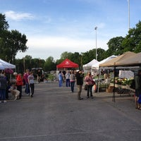 Photo taken at Broad Ripple Farmers Market by Father B. on 5/12/2012
