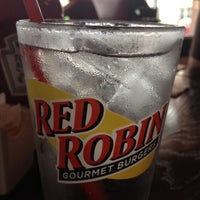 Photo taken at Red Robin Gourmet Burgers by Kaitlyn H. on 5/26/2012
