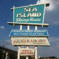 Photo taken at Sea Island Shrimp House by Sean M. on 6/27/2012