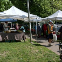 Photo taken at Dufferin Grove Farmers' Market by Val on 5/17/2012