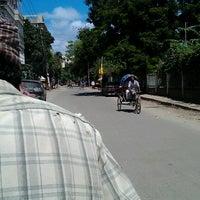 Photo taken at Niketan Traffic Jam Bridge by N R. on 8/3/2012