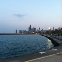 Photo taken at Chicago Lakefront by Sarah W. on 3/21/2012