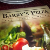 Photo taken at Barry's Pizza & Italian Diner by Alexander G. on 8/5/2012