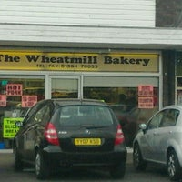 Photo taken at Wheatmill Bakery by Gez B. on 3/31/2012