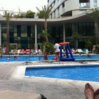 Photo taken at Hotel Agora Spa & Resort **** by Ivan R. on 8/30/2012