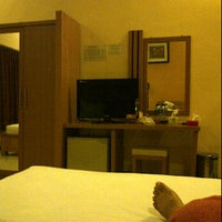 Photo taken at Hotel Kencana by Trian B. on 3/13/2012