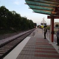 Photo taken at MetroRail - MLK Jr. Station by Corey P. on 8/15/2012