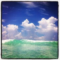 Photo taken at Destin Beach by Brandy on 7/11/2012