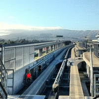 Photo taken at SFO AirTrain by Scott M. on 6/28/2012