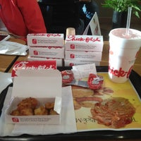 Photo taken at Chick-fil-A Stillwater by Dillon C. on 4/18/2012