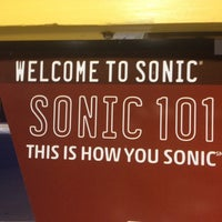 Photo taken at Sonic Drive-In by Sean P. on 8/10/2012