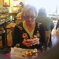 Photo taken at Einstein Bros Bagels by Larry A. on 12/24/2011