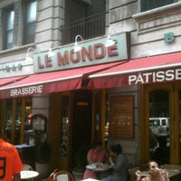 Photo taken at Le Monde by Charles B. on 5/27/2012
