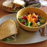 Photo taken at Panera Bread by Michelle on 8/28/2012