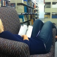 Photo taken at Dimond Library by Máiréad D. on 4/23/2012